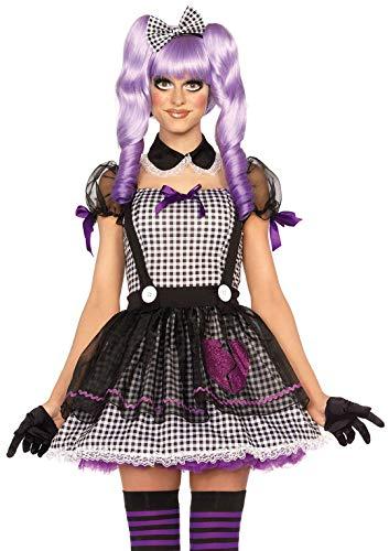 Leg Avenue 85370 - Dead Eye Dolly Damen kostüm, Größe XS  (EUR 32-34), Karneval Fasching