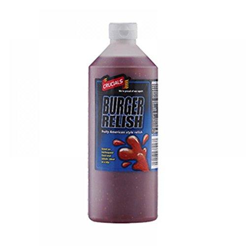 Crucials Saucen 1 Liter (Burger Relish)