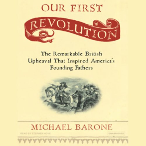Our First Revolution audiobook cover art