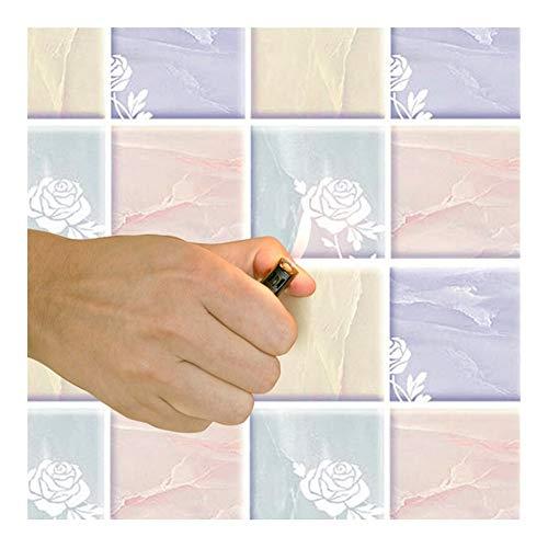 Wandsticker Tapeten Tapeten Dekorative Wand Co Transparent-Küchen-Aufkleber-Wand-Aufkleber Selbstklebende Wasserdicht Ölbeständig hochtemperaturbeständigem Film Tapete Küche Tapete Kabinett Fliesen Ko