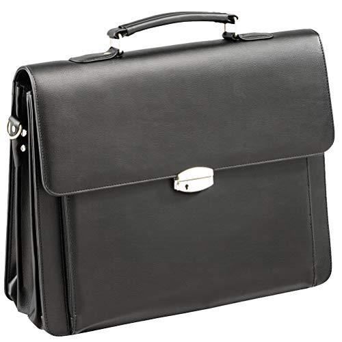 Borse cartella ventiquattrore nero pelle spalla vano notebook tasca frontale