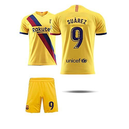 COOLBOY 9# Suarez Maglietta, Bambino Adulto Maschio Calcio Maglia, T-Shirt Pantaloncini,M