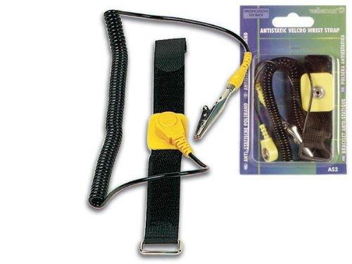 Velleman AS2 Antistatik-Armband Nylon schwarz