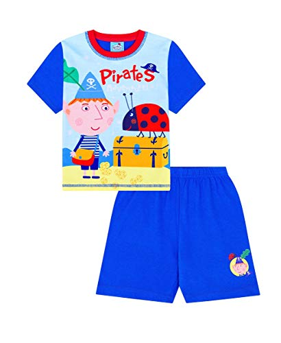Pijama corto de aventura de piratas Ben and Holly Little Kingdom