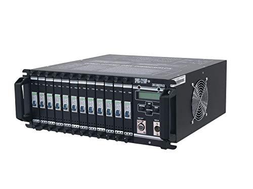 EUROLITE DPMX-1216 MP DMX Dimmerpack | 12 x 16-A-Dimmer, servicefreundliche Module, zwei 16-pol.-Multipin-Ausgänge