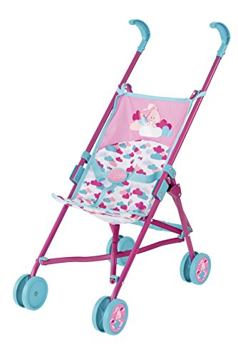 BABY Born 824177 Puppenwagen, Petrol/rosa