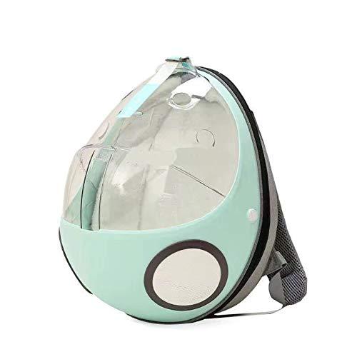 LIFF Space Capsule Transparente Taschen Katzentasche Haustierrucksack Travel Space Haustierträger Katzenstreu Dual-Use-Umhängetasche Hundeträger