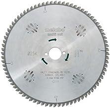 Metabo 628091000 628091000-Hoja de Sierra Metal Duro HW/CT Multi Cut 305 x 30 mm Dientes 96 FZ/TZ, 5º neg, Negro, Size