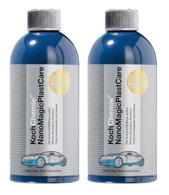 Koch Chemie 2X Nano Magic Plast Care Kunststoffpflege Kunststoffreiniger 500 ml