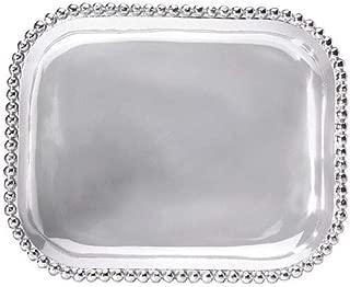 Mariposa Pearled Rectangular Platter