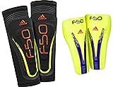 YOUTH-F50-Espinilleras de fútbol para niño Adidas, Color - Azul, tamaño S