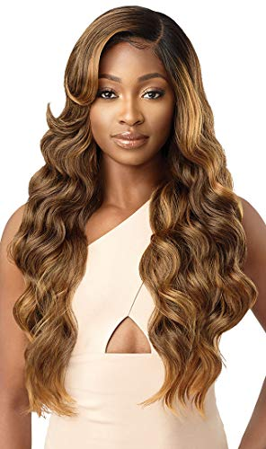 Outre Melted Hairline Lace Front Wig Frontal Effect Hairline Deluxe Wide Lace Part 2x5 HD Transparent ARIES (DRFF4/GDNHN)
