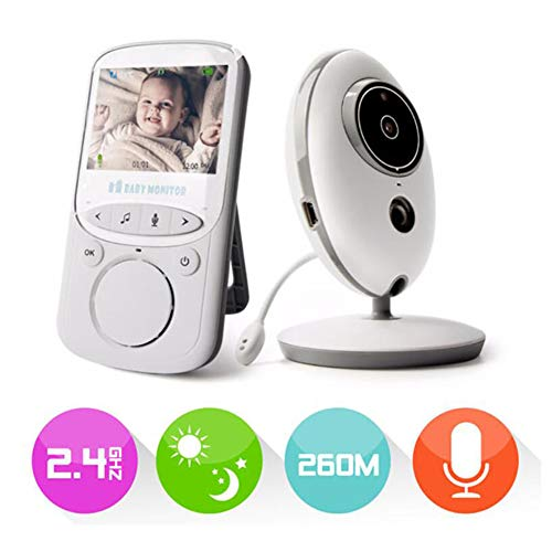 Affordable RONSHIN 2.4 Inch Wireless Baby Monitor Kids Monitoring Baby Video Phone Night Vision Came...