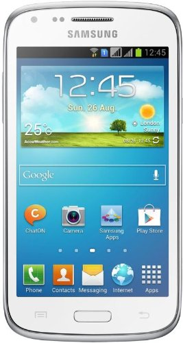 Samsung Galaxy Ace 3 - Smartphone libre (pantalla 4', cámara 5 Mp, 8 GB, Dual-Core 1.2 GHz, 1 GB RAM, Android), blanco (importado)