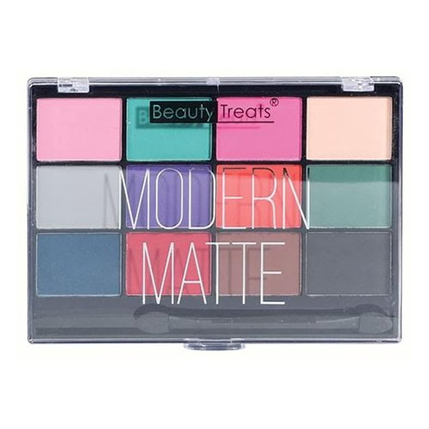 多様体通行料金ヤギ(3 Pack) BEAUTY TREATS Modern Matte Eyeshadow - Matte Colors (並行輸入品)
