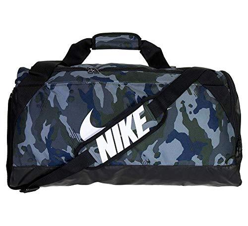 Nike BA5481 2018 Bolsa de Deporte 45 cm, 3 litros, Dark Gris/Negro/Blanco