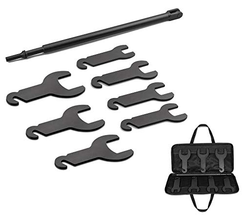 43300 Pneumatic Fan Clutch Wrench Kit Removal Tool Kit Compatible with Ford/GM/Chrysler/Jeep