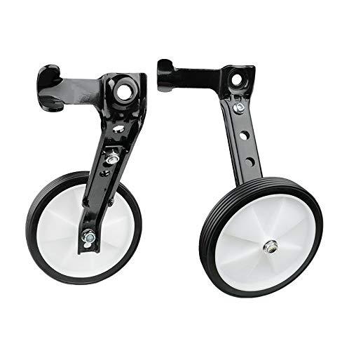 xxffyy Bike Training Wheels, Heavy Duty Rear Wheel Adjustable Kids Stabilizer Suitable, for 12 14 16 18 20 Inch Children's Single Speed Bike