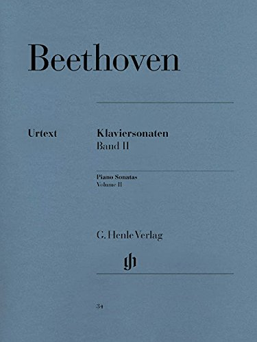 Beethoven: Piano Sonatas - Volume II (English, French and German Edition)