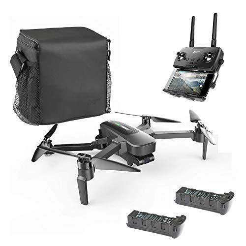 Hubsan Zino Pro GPS FPV Faltbare Drohne 4K Kamera mit 3-Achsen-Gimbal 4KM 23 Minuten WiFi APP-Steuerung (Tragbare Version)