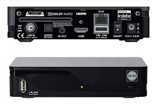 Wisi OR 710 CL Irdeto Cardless-HDTV-Sat-Receiver ORF Satelliten Empfangsgerät mit eingebautem Verschlüsselungssystem - Keine ORF Karte mehr erforderlich