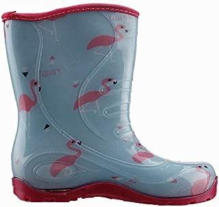 Twigy Yağmur Filamingo Günlük Yağmur Su Geçirmez Kız Çocuk Çizme