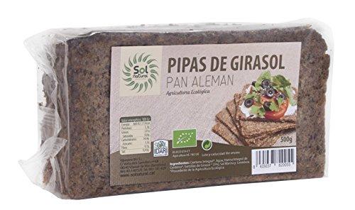 Sol Natural Pan Aleman con Pipas de Girasol, 500 g