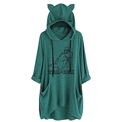 HHOP leinen Oberteil Damen Pullover Damen Herbst Damen Pullover silkbers Pullover bunt Strickpullover Damen blusen top Damen Damen Hemden Kurzarm...