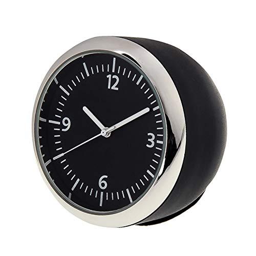 Auto Neigungsmesser Mode tragbare Stahlschale Auto Mini Dashboard Mechanische Uhr, geeignet for die meisten Autos