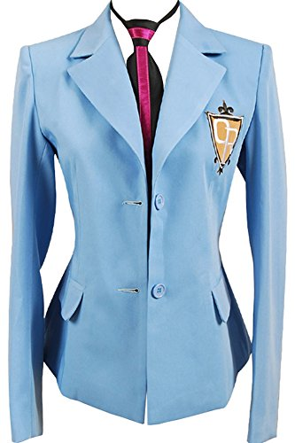 Cosplaysky Ouran High School Host Club Boy Uniform Blazer Cosplay Costume Large