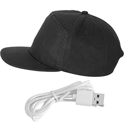Pinsofy Sombrero de decoración navideña, Sombrero de Material de algodón Unisex, para Hombre
