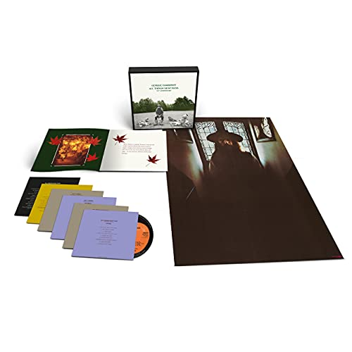 All Things Must Pass (5CD + 1 Bluray Audio Super Dlx.)