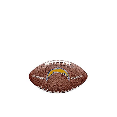 Wilson Sporting Goods - Lizensierte Footballs in braun, Größe Mini