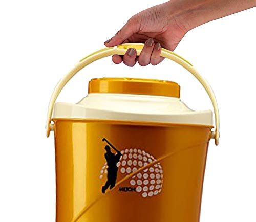 Milton Kool Stallion 5 , Insulated Plastic , Water Jug (EC-THF-FTW-0019_Golden Yellow)