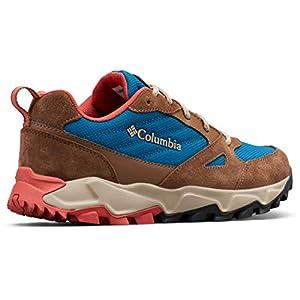 Columbia Women's IVO Trail Hiking Shoe, Lagoon, Coral, 8.5 Regular US