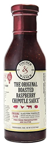Fischer & Wieser The Original Roasted Raspberry Chipotle Sauce, 15.75 Ounce (Pack of 6) ( Pack May Vary )