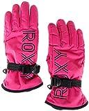 Roxy Damen Freshfield-Ski-/Snowboardhandschuhe, Beetroot pink, M