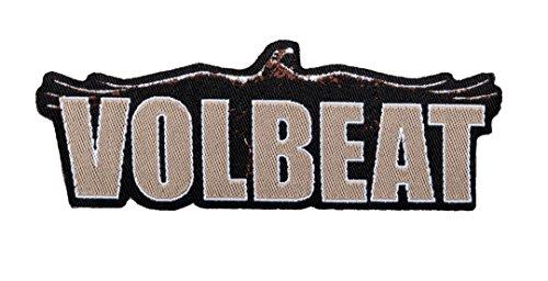 Volbeat Aufnäher Raven Logo Cut Out Patch - Gewebt & Lizenziert !!