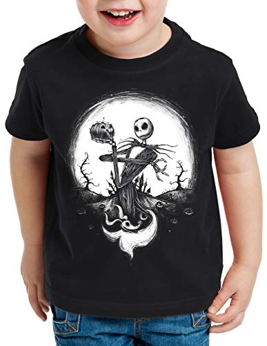 CottonCloud Jack Skellington T-Shirt für Kinder Christmas Before Nightmare, Größe:104