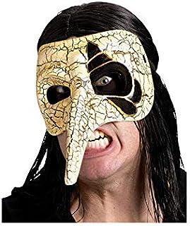Horror-Shop Crema de la máscara veneciana pico/oro