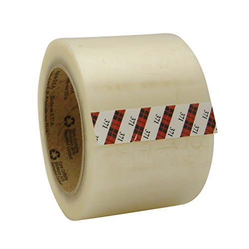 3M Scotch 371 Box Sealing Tape: 3 in. x 110 yds. (Clear) by 3M