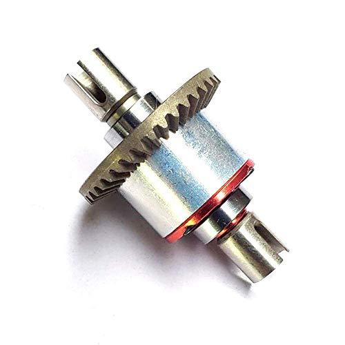 ZGQA-GQA Parti di Ricambio RC Full Metal Ingranaggio differenziale Interamente in Metallo Compatibile con 144001 124019 124018 Rc Car