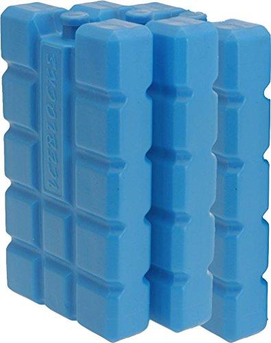 iapyx Kühlakkus - Kühlelemente 3er Set Kühlakku iceblocks Freeze Packs für Kühltaschen Kühlboxen 12h Akkus