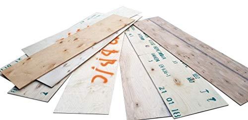 3-7mm Sperrholzplatten Multiplex Platten ca 37 x76cm Bastler Birke Sperrholz Regal Bauen Holz Stücke Holzreste Bastelholz teilweise mit Beschriftung, Menge wählen:10 Stück