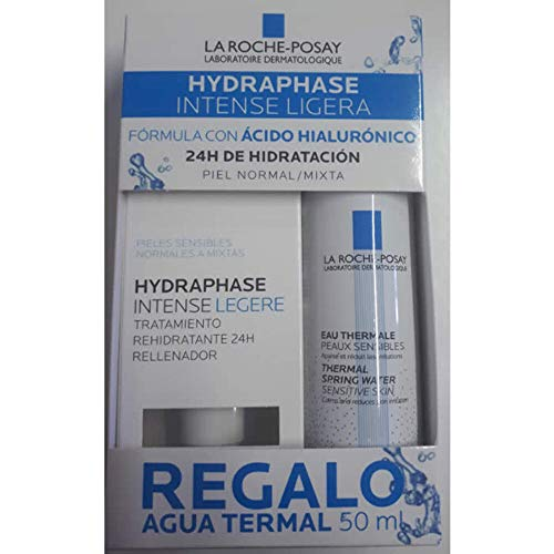 La Roche Posay Hydraphase Intense Textura Ligera, 50ml+REGALO Agua Termal, 50ml