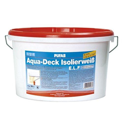 Pufas Aqua-Deck Isolierweiß E.L.F. 10L Isolierfarbe