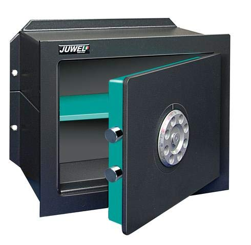Caja fuerte de pared Juwel Kombifrank artículo 4913 con combinación mecánica 2 discos. Dimensiones: 195 x 315 x 142 cm.