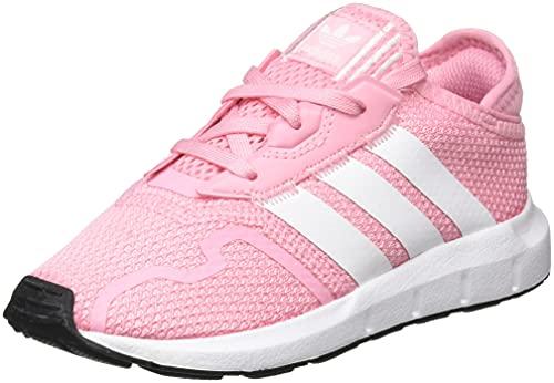 adidas Swift Run X, Sneaker Unisex bebé, Light Pink/Cloud White/Core Black, 25 EU