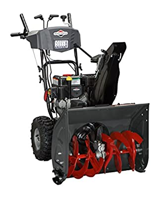 Briggs & Stratton S1024 Standard Series 24-Inch Dual-Stage Snow Blower with Free Hand Control and Dash Mounted Chute Rotation