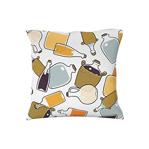ANVPI kussenslopen 18cm 18cm kwaliteit kussenhoezen in polyester - hema voor auto terras Gift for Family